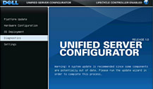 Dell Unified Server Confugurator