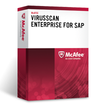 McAfee VirusScan Enterprise для использования с платформой SAP NetWeaver